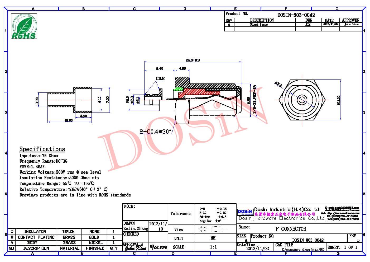 DOSIN-803-0042