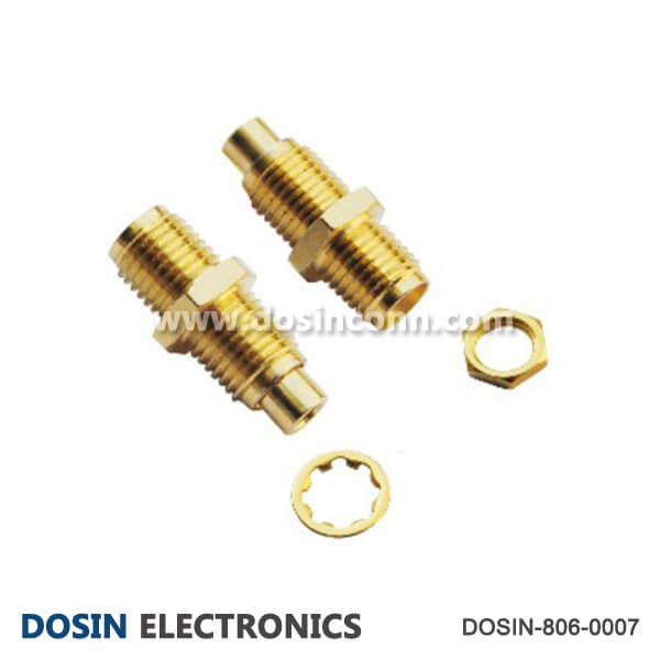 SMA Connector Coaxial Cable Jack Bulkhead Receptacle