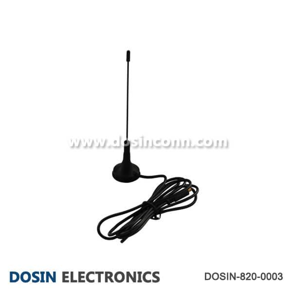 GSM Wireless Antenna 2Dbi Black Wireless