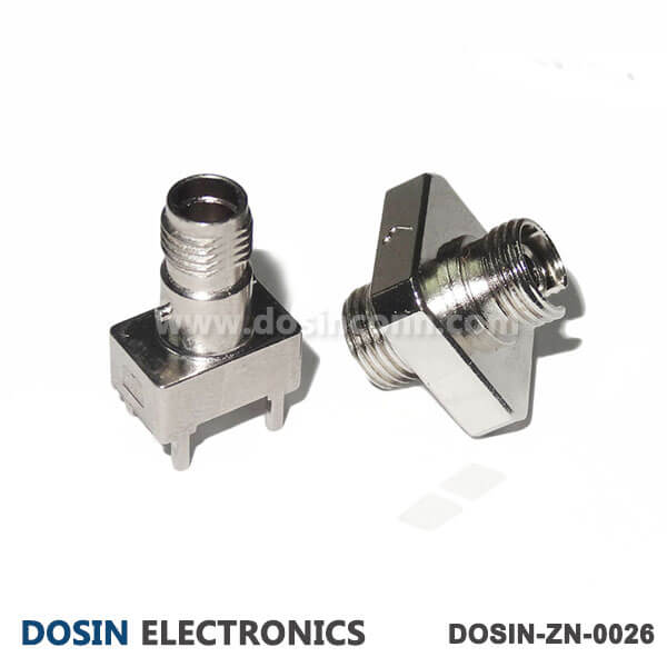 Fiber Optic Connector Accessories Conenctor Shell Zinc Alloy Nickel Plated