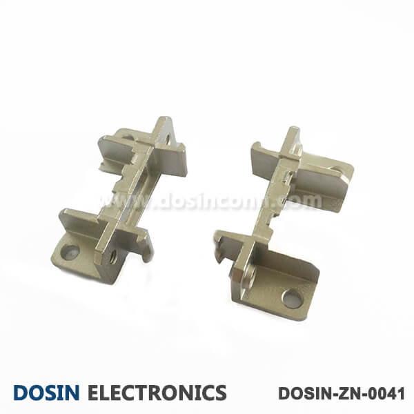 DB9 Connector Accessories D shaped Connector Alloy Zinc Shell