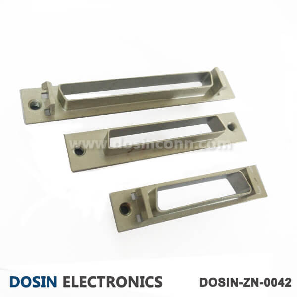 SCSI Connector D shaped Connector Zinc Alloy Housings