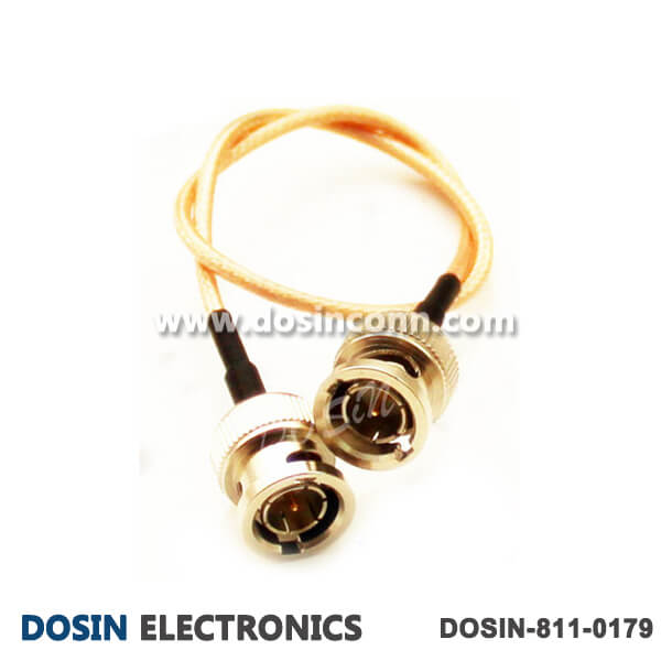 BNC Male to Male Cable with Coax RG178 Cable Assembly