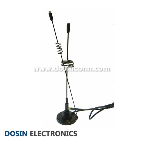 Antenna for Digital TV HDTV 5dBi DVB-T F Type Magnetic Base