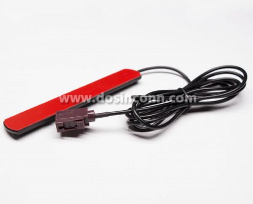 Sticky Patch Antenna GSM External With Coaxial RG174 FAKRA Connector