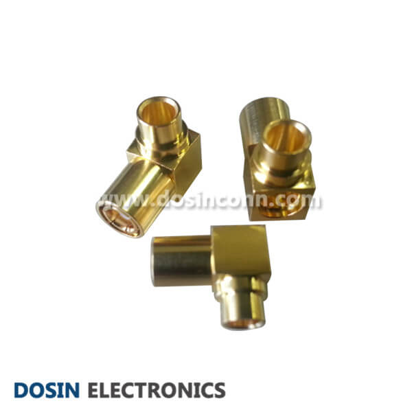 Cheap SMB Connector Right Angled Plug RF Coax for UT141