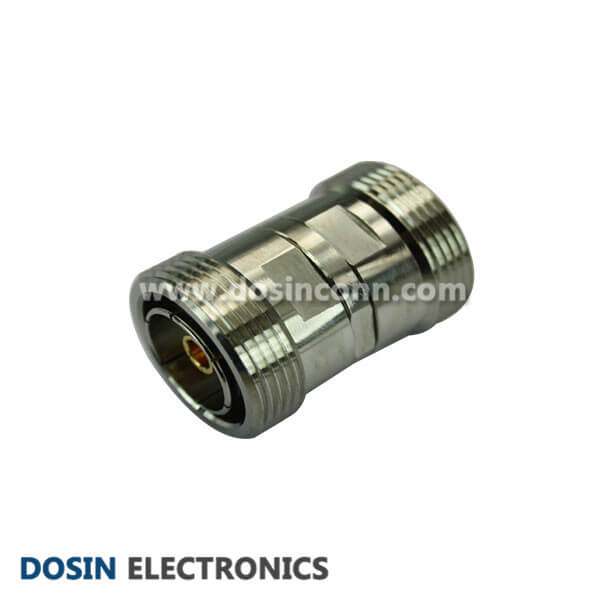 7/16 DIN Female to 7/16 DIN Female Straight Adapter