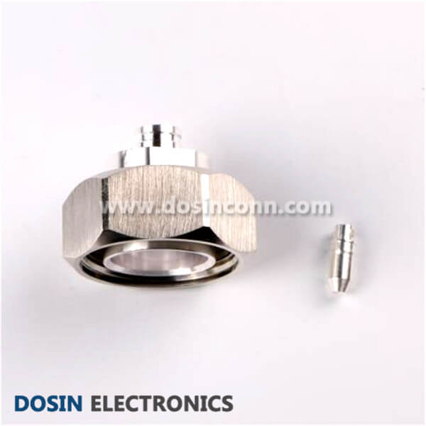 7/16 DIN Connector 180 Degree Solder Type Plug for 7/8 Cable
