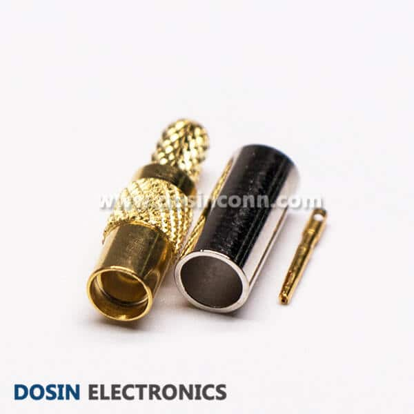 MMCX RF Connector for External GPS Antenna Straight Plug