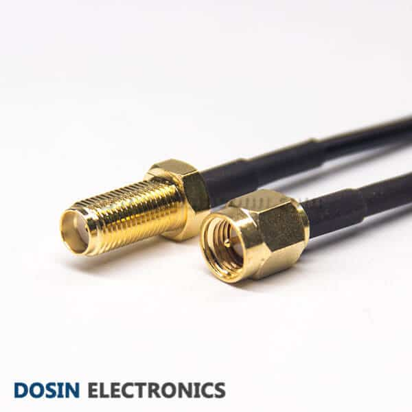 SMA Male to SMA Female Extension Cable Straight Connector RG174 Cable