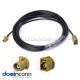 Fakra Radio Connector Fakra K Female to Male Antanna Adapter Pigtail Cable 5m for Car Sirius XM