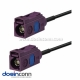 Fakra Cable Car 4G LTE GSM Telematics Antenna Extension Cable 5m