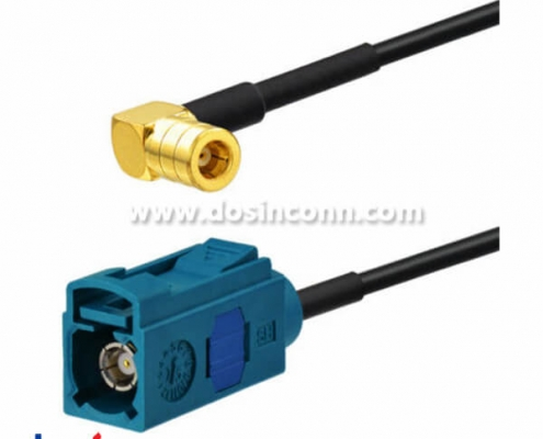 Fakra z Cable to SMB Antenna Adapter Cable 15cm for DAB Digital Radio XM Satellite Radio
