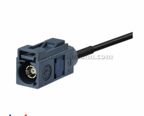 Fakra Connector G Type Grey Cable Car Telematics Telephone Antenna Cable 6m