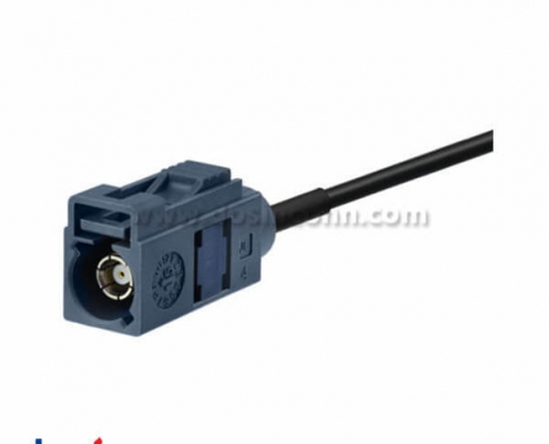 Fakra Male to Female G Grey Cable Car Telematics Antenna Extension Cable 5m