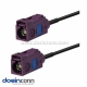 Fakra Extension Cable D Vehicle 4G LTE 3G UMTS GSM Telematics Antenna Adapter 5m